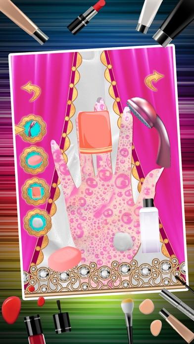 Nail Art Makeover Salon – Little Princess Nail Manicure Dressup Games for Girls screenshot three