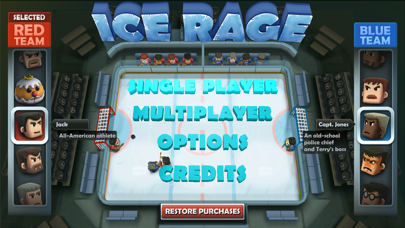 Screenshot from Ice Rage
