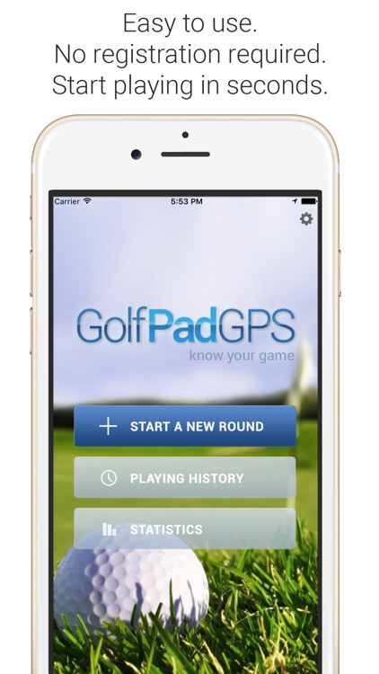 Golf Pad: Free Golf GPS screenshot-0