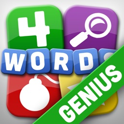 4 Words Genius - SAT and GRE Word Trainer Game