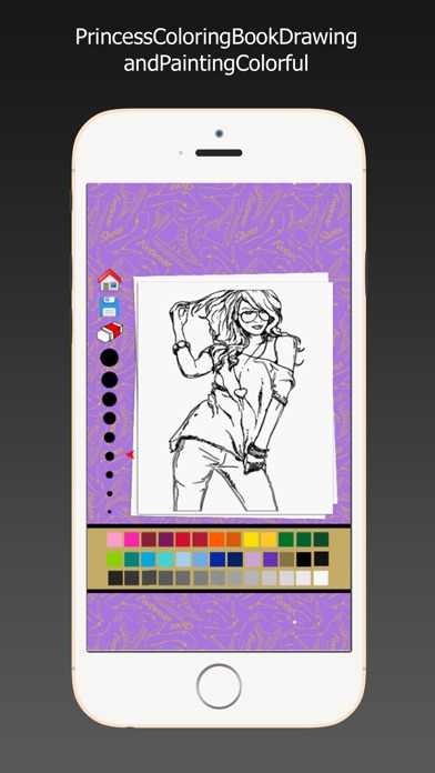 Princess Coloring Book Drawing Painting Colorful APK For Android