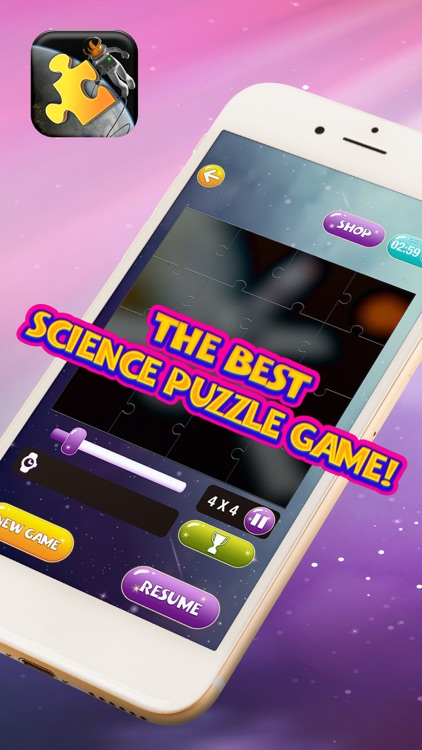 Space Jigsaw Puzzle Free – Science Game for Kids and Adults With Stars & Planets Pic.s
