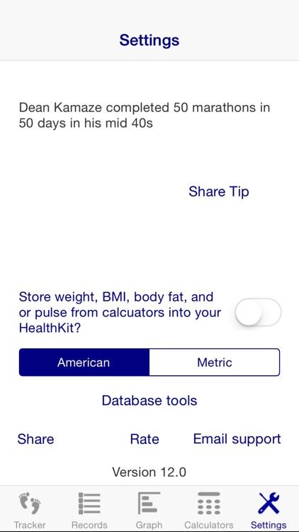 Treadmill Tracker screenshot-3