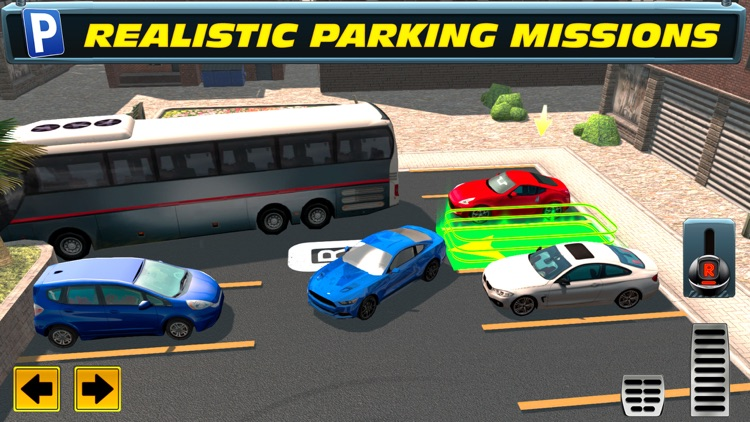Trailer Truck Parking with Real City Traffic Car Driving Sim screenshot-4