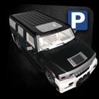 jeep juego de coches de aparcamiento icon