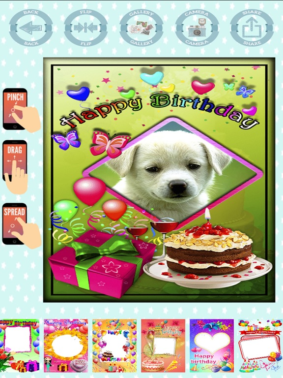 Happy Birthday Frames To Create Cards With Photos App Price Drops