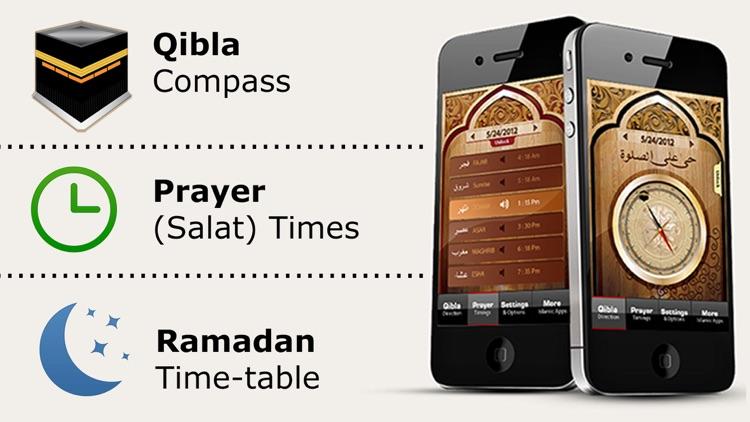 Muslim Prayer Times, Ramadan & Qibla Compass (Pro) screenshot-0