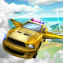 Flying Police Car Simulator 3D