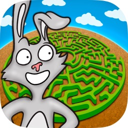 Animal maze game for kids - Solve the maze do the puzzle and paint the funny animals in the game