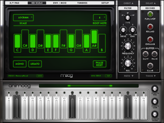 ‎Animoog Screenshot