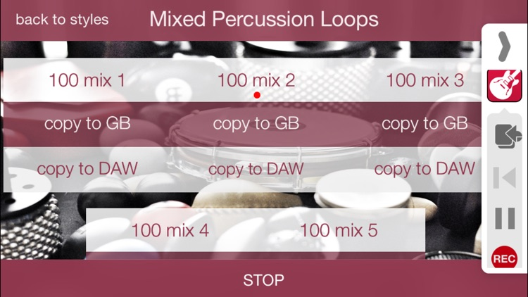 Percussion Loops HD screenshot-3
