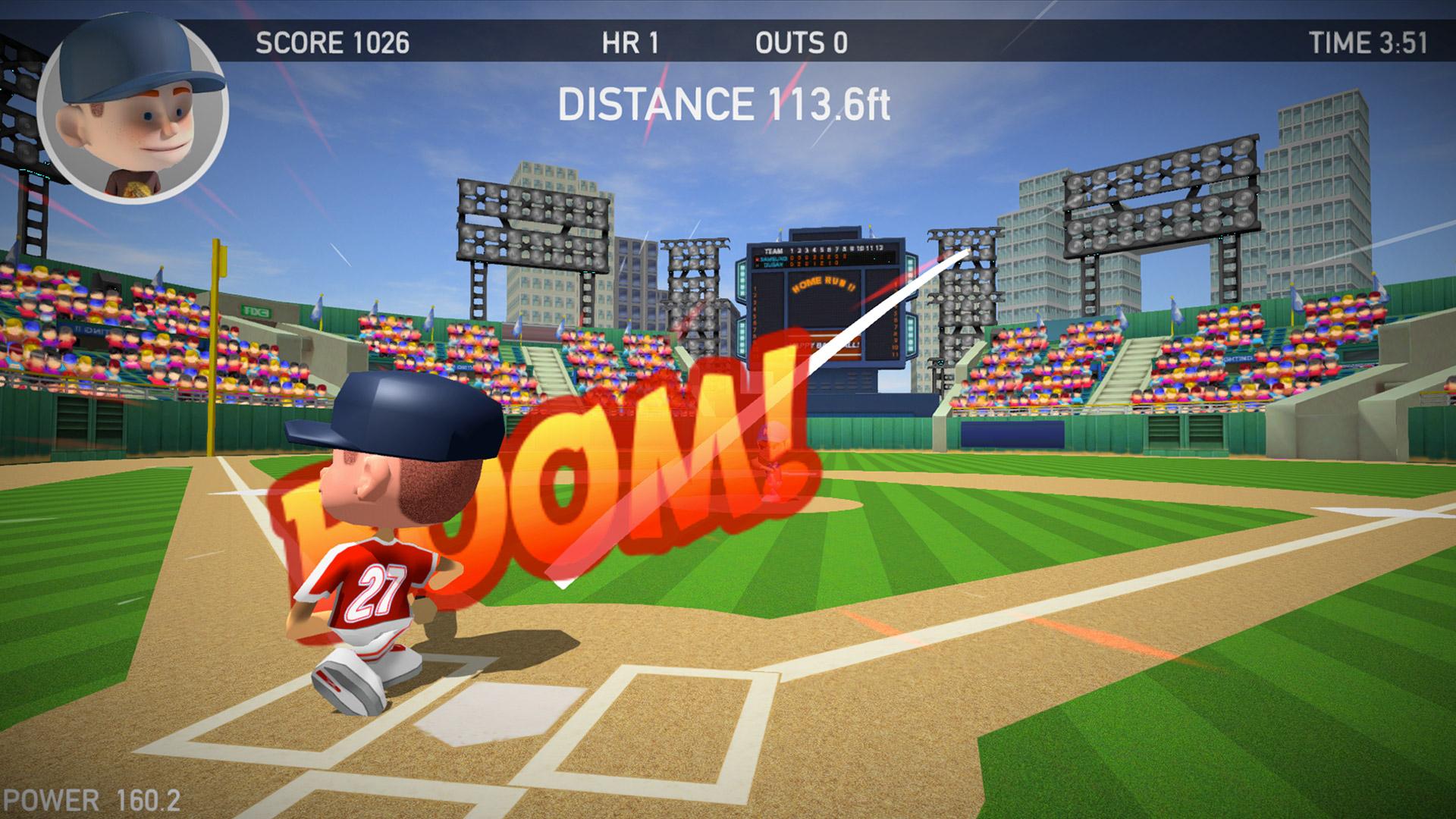 Baseball Games 2016 - Big Hit Home Run Superstar Derby ML screenshot 3