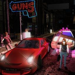 Crime Gangster City Station - Grand Gangsta Auto Simulation 3D