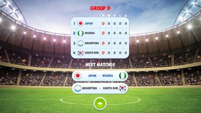 ワールド サッカー トーナメント 3D - サッカーゲームのスクリーンショット4