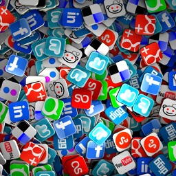 Social Media All In One App - Access all your social networking services in one place