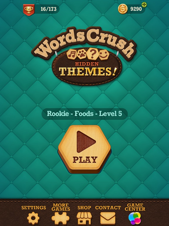Игра Words Crush: Hidden Themes!