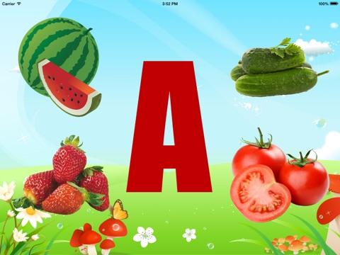 Вкусная Азбука - обучающее приложение для детей для iPad