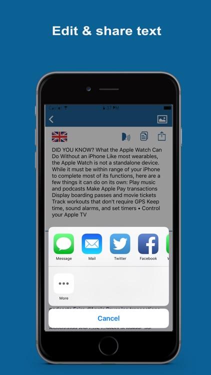 Text Extractor & Translator Pro screenshot-4