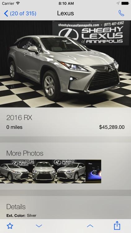 Sheehy Lexus of Annapolis screenshot-3
