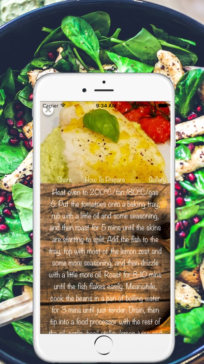 Healthy & Quick Recipes screenshot-0