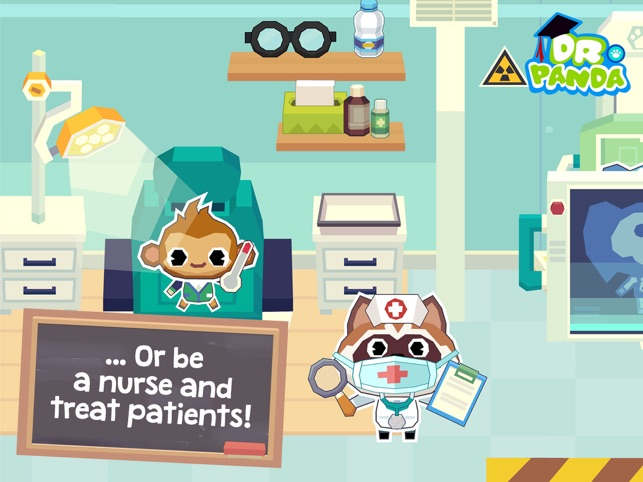 Dr. Panda School Screenshot
