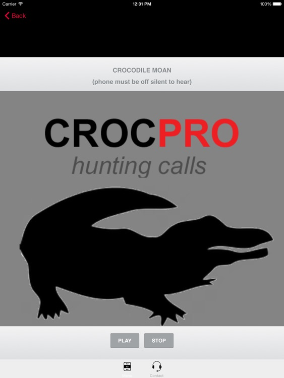 REAL Crocodile Calls & Crocodile Sounds! -- BLUETOOTH COMPATIBLE screenshot-0