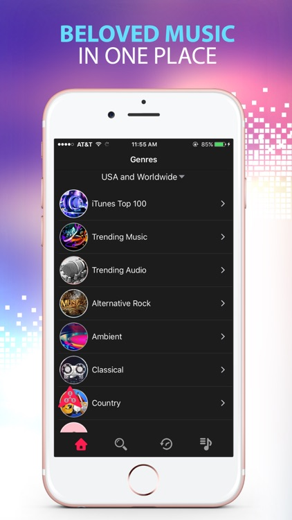 Free Music Player - Music Streaming & Playlist Manager & Audio Streamer Pro
