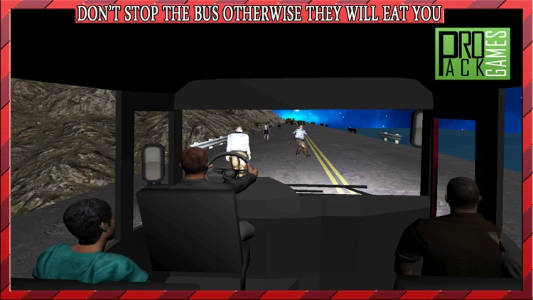 Driving Passengers Bus at Zombie Town Cockpit View – Creepy Highway Apocalypse City