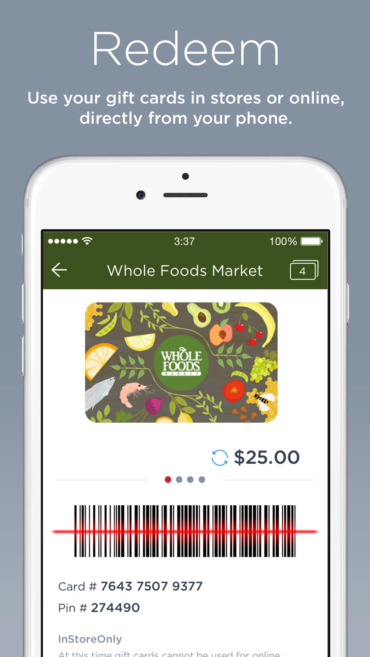 Gyft - Mobile Gift Card Wallet Screenshot