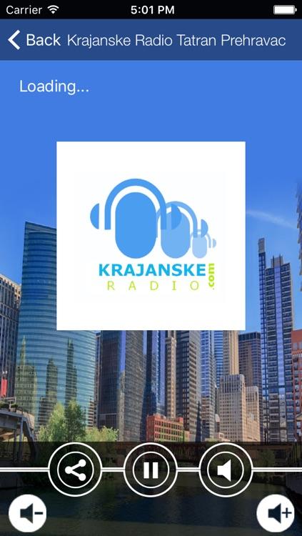 Krajanske Radio Tatran Prehravac