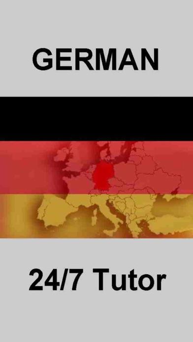 German Vocabulary 24/7 Language Learning screenshot one