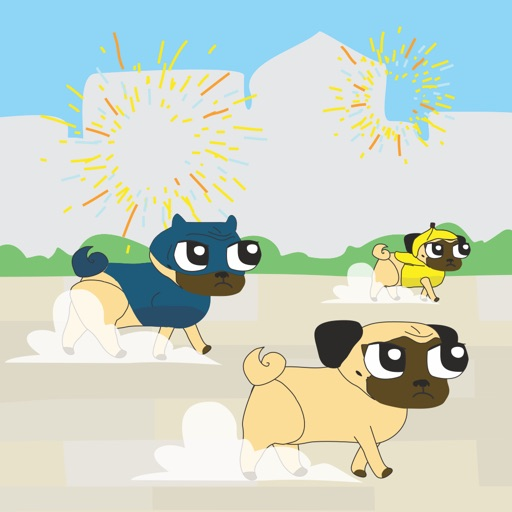 Pugparade - From the Makers of Growing Pug (Pug Parade) iOS App