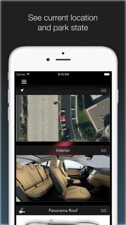 KeyMote - Remote for Tesla Model S & Model X screenshot-3