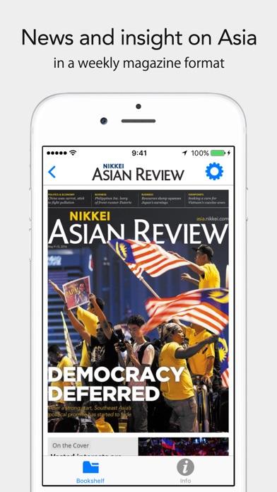 Nikkei Asian Reviewスクリーンショット