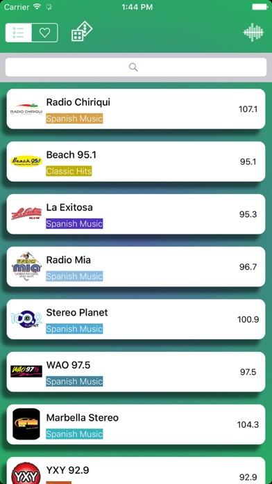 Radio Panamá - FM AM screenshot one