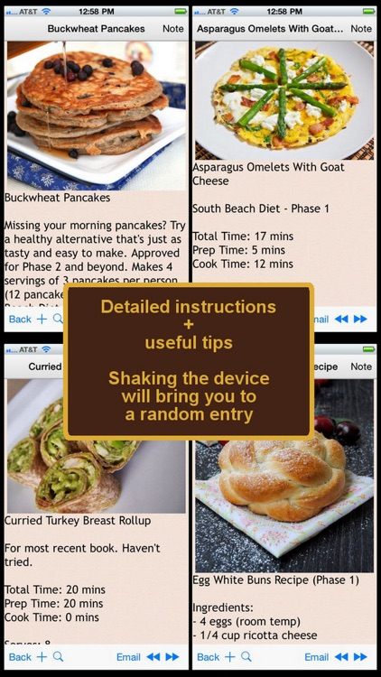 South Beach Recipes Plus+ screenshot-2