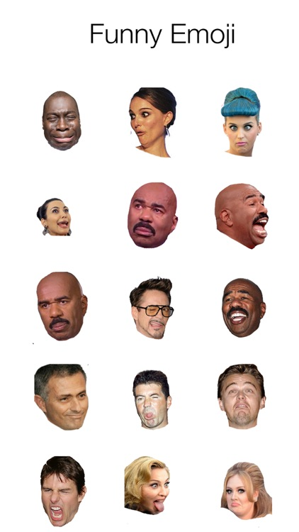 Real Emoji, Emoticon for WhatsApp, Viber, Messenger.
