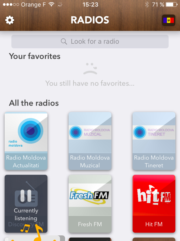 Moldova Radio - access all Radios in Moldavia FREE | App