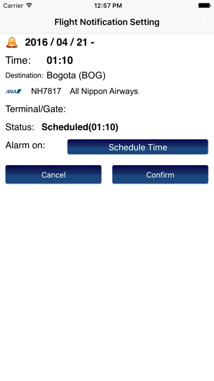 US New York JFK Intl Airport Flight Info screenshot-2