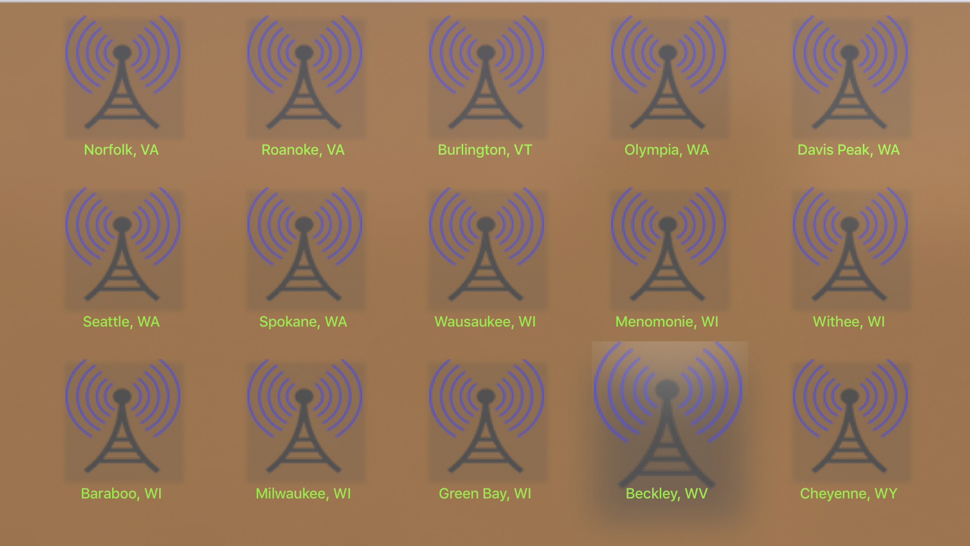 Instant NOAA Radios Elite screenshot 15