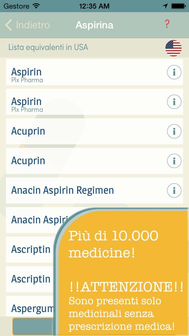 Trova la mia Medicina   Ricerca l'equivalente del tuo farmaco quando sei in viaggio