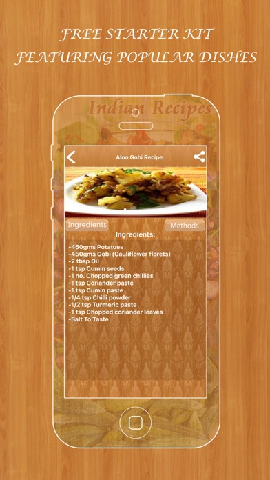 Indian recipes collection free by red stonz technologies private indian recipes collection free forumfinder Images