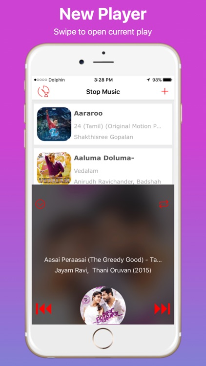 Stop and Timer Music Player screenshot-3