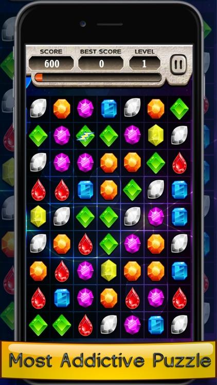 Jewel Mania Match 3 Kids Game screenshot-4