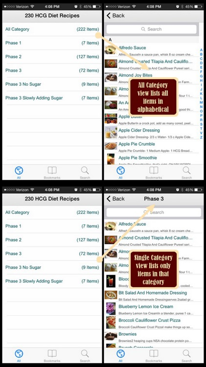 HCG Diet Recipes Plus+ screenshot-3
