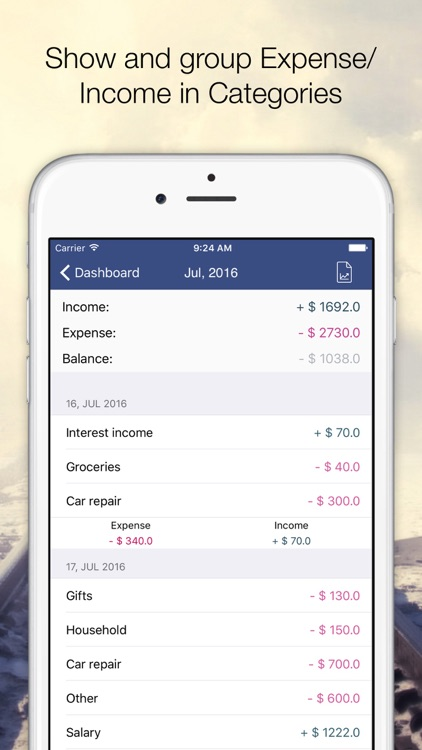 My Budget Book : Expense Tracker With Sync