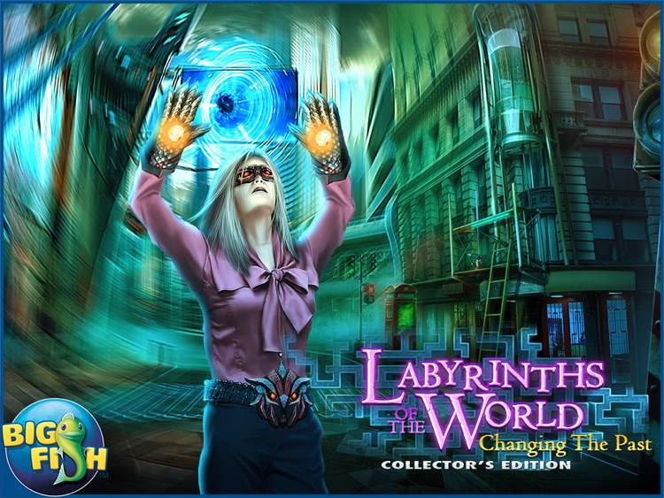 Labyrinths of the World: Changing the Past HD - A Mystery Hidden Object Game screenshot-4