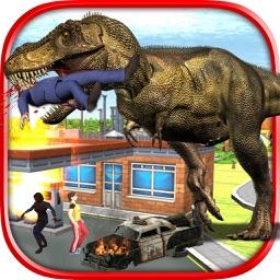 Dino Attack City 3D