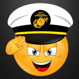 Marine Emojis Keyboard Memorial Day Edition by Emoji World app