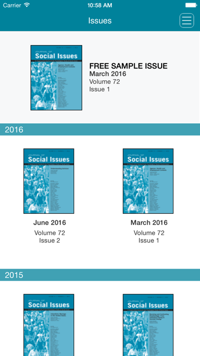 Journal of Social Issues